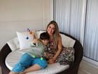 'Deixei de viver minha vida para viver  a dele', diz Mayra Cardi sobre filho