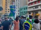 Curitiba tem protestos a favor de Sérgio Moro e contra Michel Temer