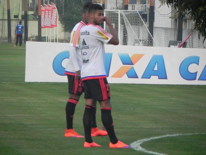 Kayke Flamengo (Foto: Chandy Teixeira / GloboEsporte.com)