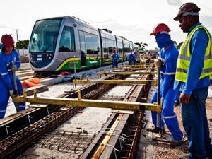 Atraso: VLT só deve funcionar a partir de 2015, admitiu governo. (Foto: Mayke Toscano / Secom-MT)