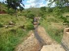 Córregos que abastecem cidade de Minas secam e viram 'trilhas de terra'