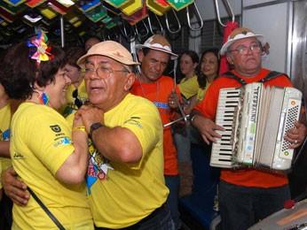 Trem do Forró completa 23 anos em 2013. (Foto: Mauro Rodrigues/ Divulgação)