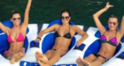 Chiques: Vera Viel curte ao lado de Ana Paula Siebert em Angra (Reprodução/Instagram)