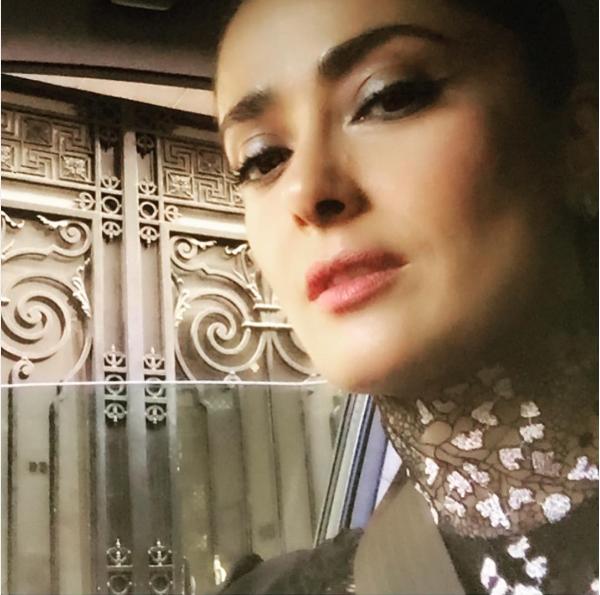 A atriz Salma Hayek (Foto: Instagram)