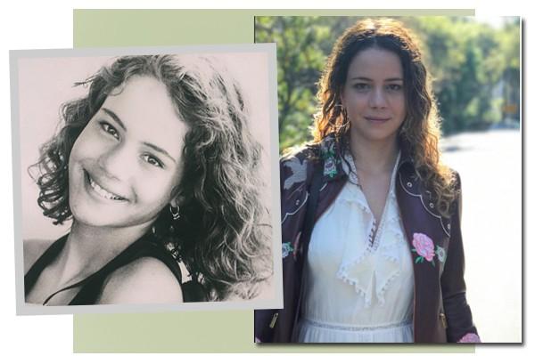 Leandra leal com 12 anos e, atualmente, com 34 (Foto: Reprodução / Instagram)