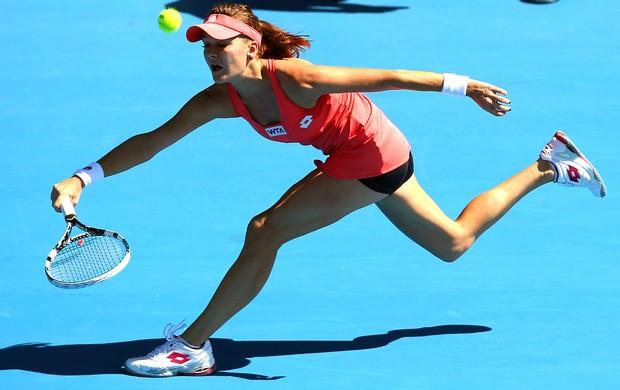 Tênista Agnieszka Radwanska, WTA de Auckland (Foto: Getty Images)