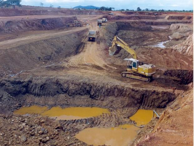 Setor de extrativo mineral cresceu devido a implantação de grandes empreendimentos no Tocantins (Foto: Luciano Ribeiro/ATN)