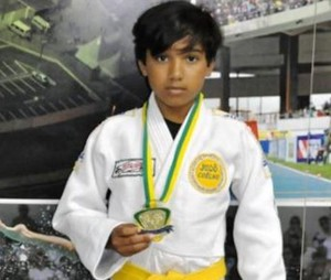 Marcus Vinícius Ribeiro, judoca paraense (Foto: Laís Freire/Ascom Seel)