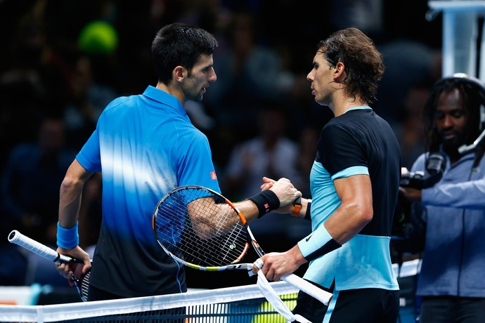 Nadal x Djokovic - semifinal atp finals tênis (Foto: Getty Images)