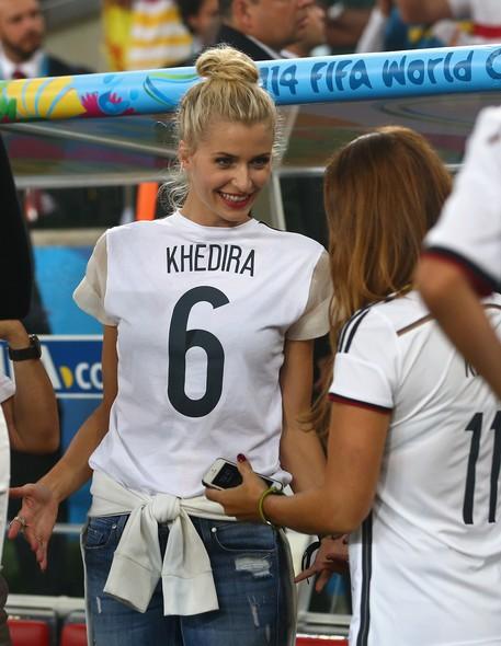 Lena Gercke, namorada de Sami Khedira