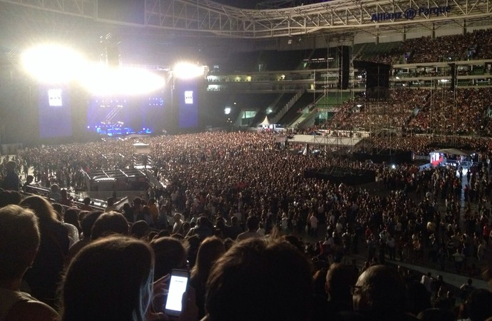 Show de Paul McCartney no Allianz Parque (Foto: Felipe Zito)
