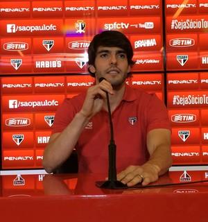 Kaká entrevista são paulo (Foto: Marcelo Prado/GloboEsporte.com)