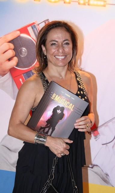 Cissa Guimarães em estreia de musical no Rio (Foto: Alex Palarea e Felipe Panfili/ Ag. News)
