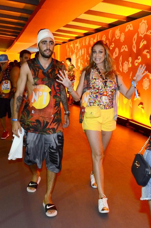 Luana Piovani e Pedro Scooby (Foto: Divulgação/CamaroteN1)