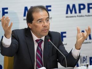 O procurador Nicolao Dino, candidato ao cargo de procurador-geral da República