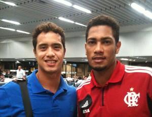 Fabiano de Paula e Hernane (Foto: Reprodução / Facebook)