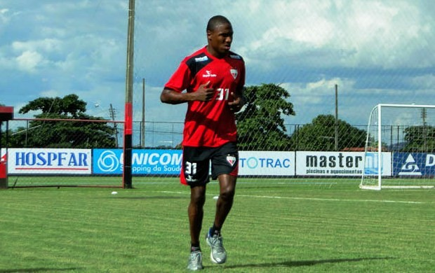 marino, volante do atlético-go (Foto: Divulgação / Site Oficial do Atlético-GO)