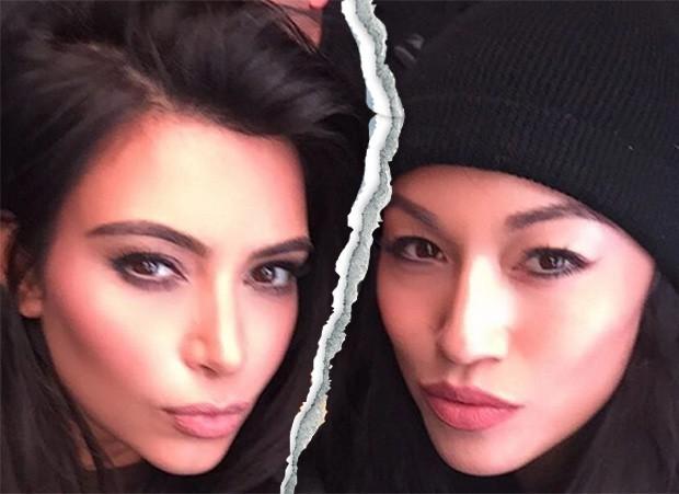 Kim Kardashian e a ex-assistente Stephanie Shepherd (Foto: Reprodução/Instagram)