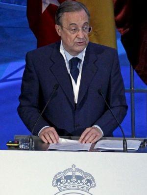 florentino perez, presidente do real madrid (Foto: EFE)