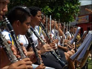 Amam Associação Musical Antonio Malato Ponta de Pedras Pará (Foto: Divulgação)