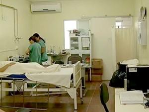 Maternidade de Mossoró (Foto: Reprodução/Inter TV Cabugi)