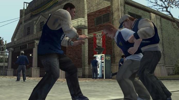 Em Bully seu objetivo era mais evitar de sofrer bullying do que praticá-lo (Foto: Reprodução/Gamesurf)