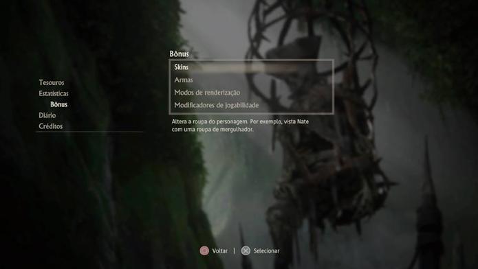 Como mudar a roupa dos personagens em Uncharted 4 (Foto: Reprodução/Felipe Vinha)