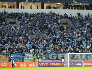 grêmio arena gradis geral vitória barras (Foto: Lucas Uebel/Grêmio FBPA)