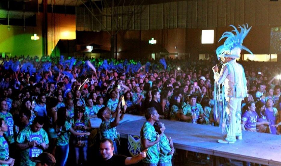 Público lotou o Studio 5 Centro de Convenções, em Manaus (Foto: Bom dia Amazônia)