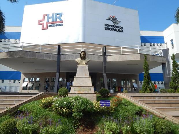 Hospital Regional de Presidente Prudente (Foto: Assessoria de Imprensa/Hospital Regional)