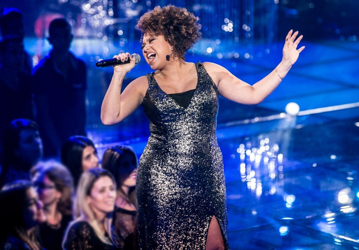 Agnes Jamille arrasou no look e na voz durante os Shows Ao Vivo (Foto: Isabella Pinheiro/Gshow)