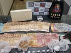 Trio é preso com crack, maconha, cocaína e R$ 2 mil em Itapetininga