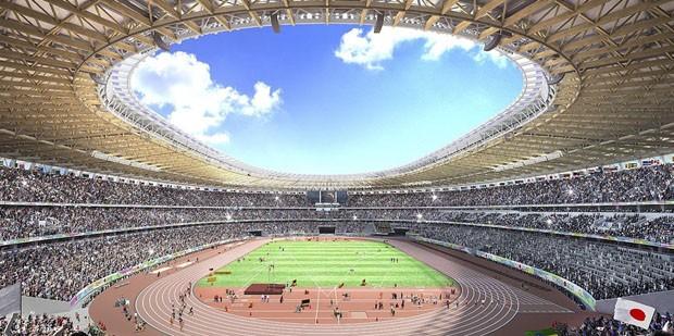 O polêmico estádio olímpico de Tóquio 2020 assinado por Kengo Kuma (Foto: Divulgação)