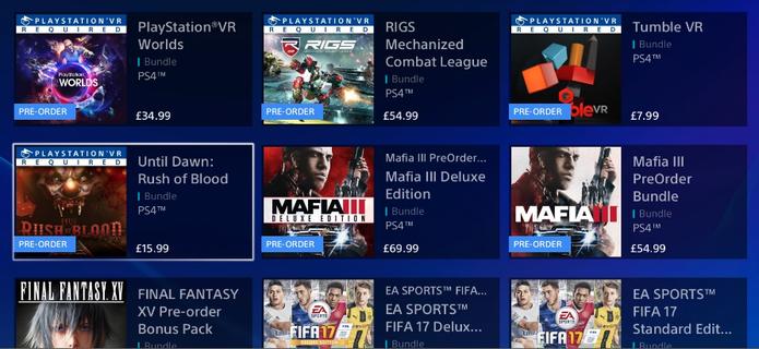 Jogos do PS VR já estão nas lojas (Foto: Divulgação/Sony)
