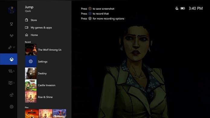 Atualização no dashboard do Xbox One tem foco em velocidade e usabilidade (Foto: Divulgação/Microsoft)