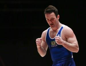 Diego Hypolito no Mundial de Glasgow (Foto: Ricardo Bufolin/CBG)
