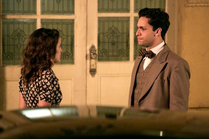 Maria não aceita proposta de Celso (Foto: Isabella Pinheiro/Gshow)