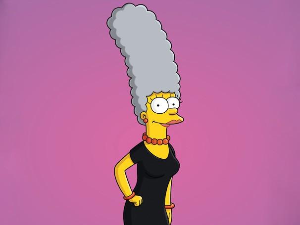 Os Simpsons - Marge deixa o cabelo cinza e choca Homer e os filhos (Foto: Divulgação / Twentieth Century Fox)