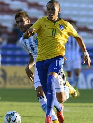 marcos guilherme, Brasil x Argentina, sub-20 (Foto: AFP)