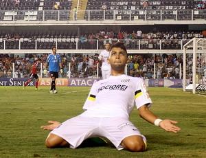 Gabriel gol Santos (Foto: Lucas Baptista / Ag. Estado)