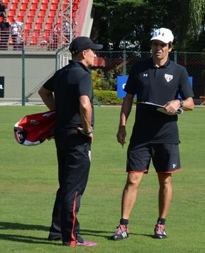 Milton Cruz Zé Mário Campeiz São Paulo (Foto: Site oficial do SPFC)