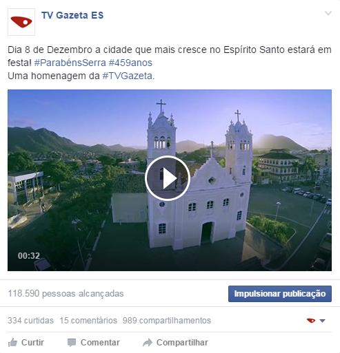 Aniversário da Serra (Foto: Divulgação/ TV Gazeta)
