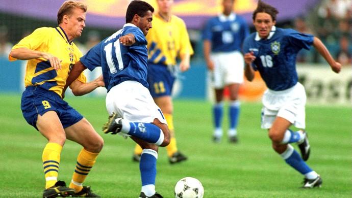 Romário, Brasil e Suécia 28/06/1994 (Foto: Getty Images)