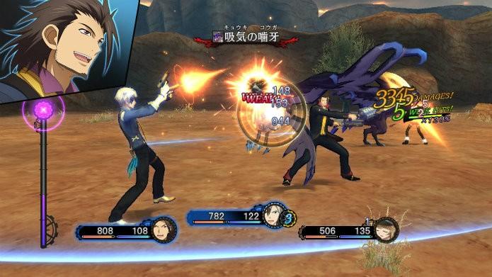 Houve um real aprimoramento na fluidez dos combates, que agora contam com três tipos de fraquezas para aumentar o desafio (Foto: Divulgação/Namco Bandai)