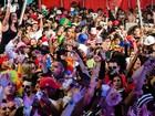 Festa à fantasia celebra 30 edições unindo 5 mil jovens e 'coroas' no RJ