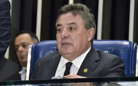 O senador Zeze Perrella, em foto de 2015 (Foto: Waldemir Barreto/Agência Senado)