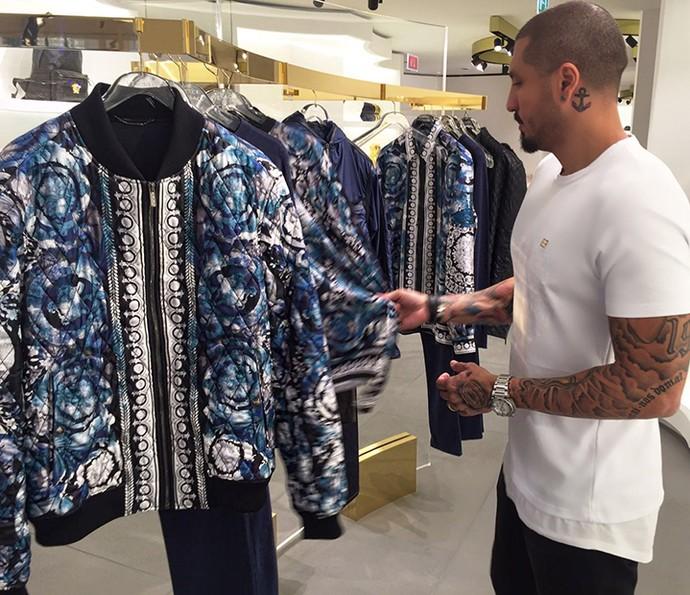 Fernando sempre escolhe suas próprias roupas (Foto: Arquivo pessoal)