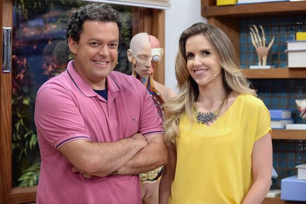 Fernando Rocha contará com Mariana Ferrão ao seu lado para apresentar o Bem Estar Global, que acontece na sexta-feira, dia 27, em Belo Horizonte (Foto: Globo)