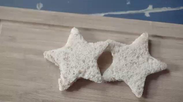Sanduche integral com pasta de queijos (Foto: Reproduo)