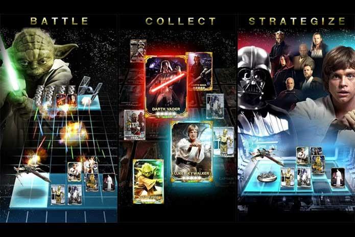 Force Collection tem cards exclusivos do Star Wars Day (Foto: Divulgação/Konami)